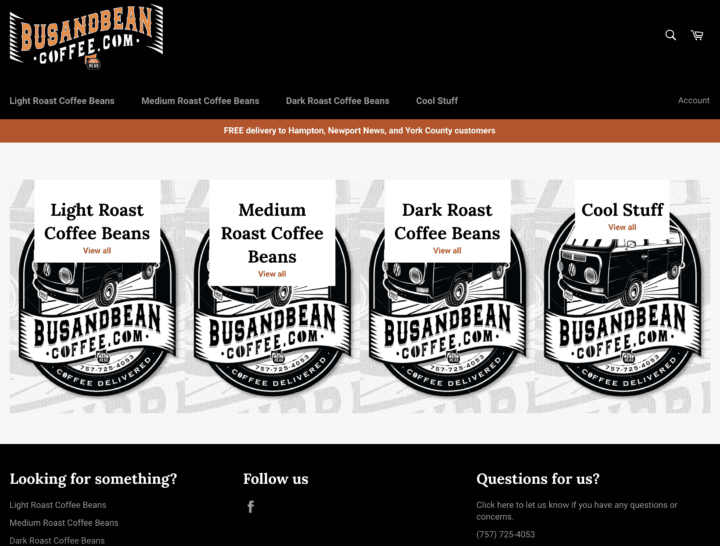 Did you see Bus & Bean Coffee?