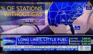 Colonial Pipeline gas shortage