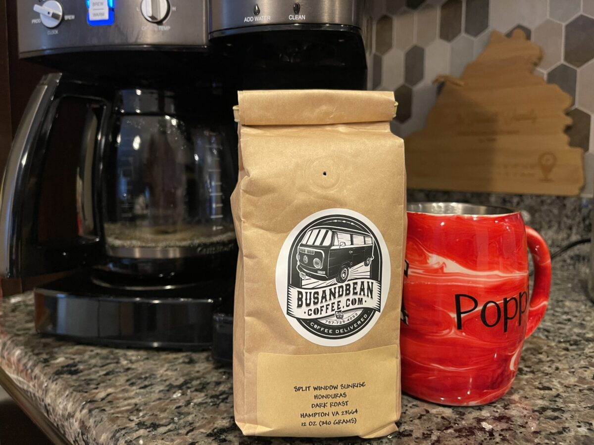 It's a Bus & Bean Coffee kinda day