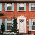 classic red brick home