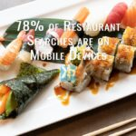 78% of searches for your restaurant are on mobile devices