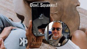Ooh! Squirrel!