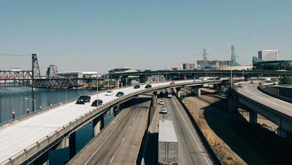 portland oregon usa highway